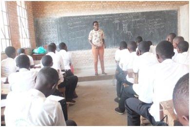 HROC basic workshop in Musaga high school.