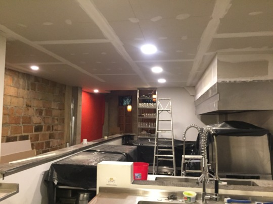 New kitchen ceiling on its way!