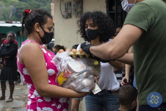 Help Colombia grocery distribution in Belen