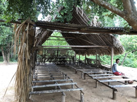 School in Yaviaje, Alto Ventuari, Amazonas state,