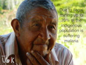 Old man. Pemon people. Sector III. La Gran Sabana