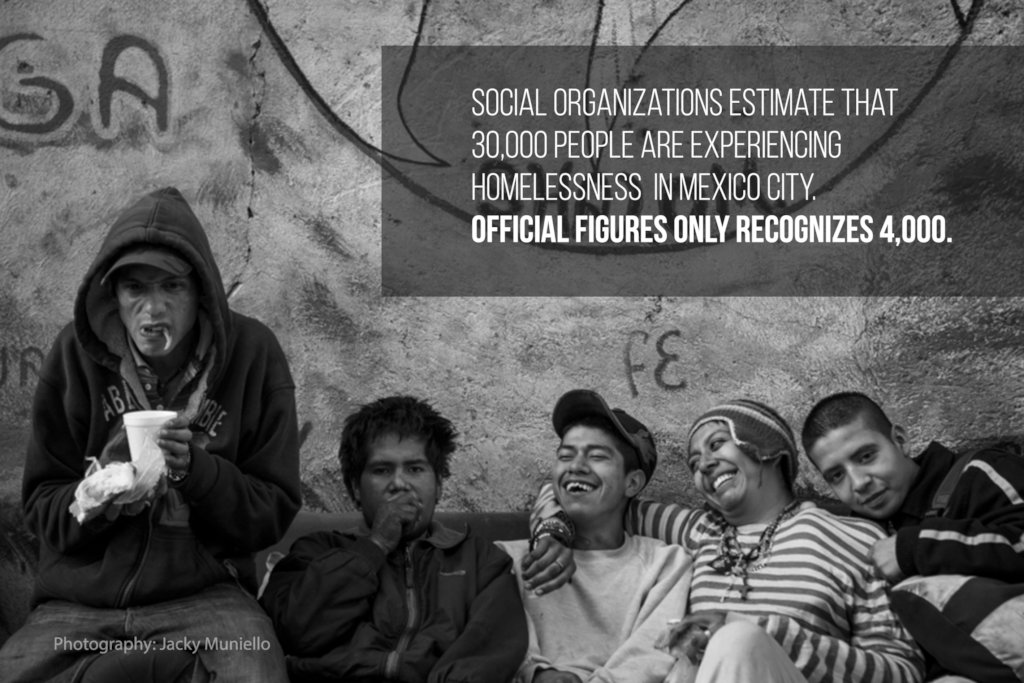 Help us eradicate Homelessness in Mexico City