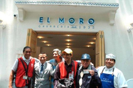 Visiting Churreria El Moro