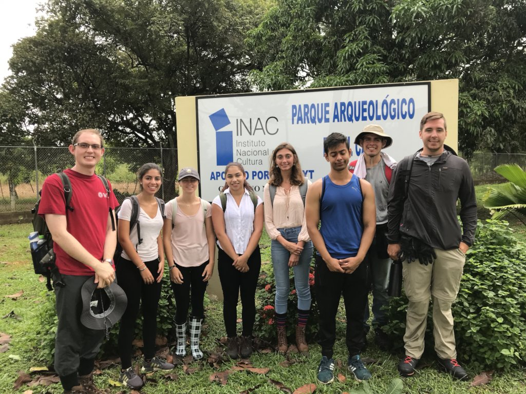 Worcester Polytechnic students in El Cano