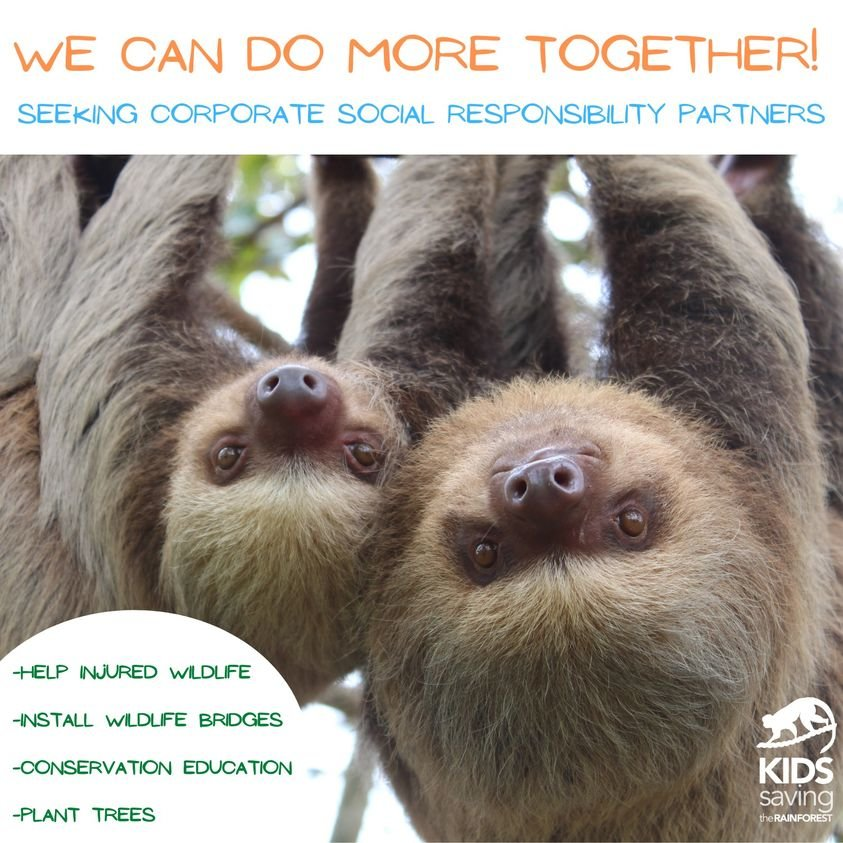 Kids Saving the Rainforest Clinic & Reforestation