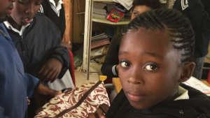 Grade 4 girl