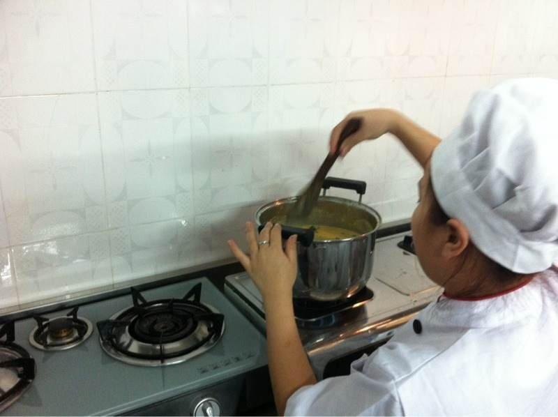 Future gormet chef!