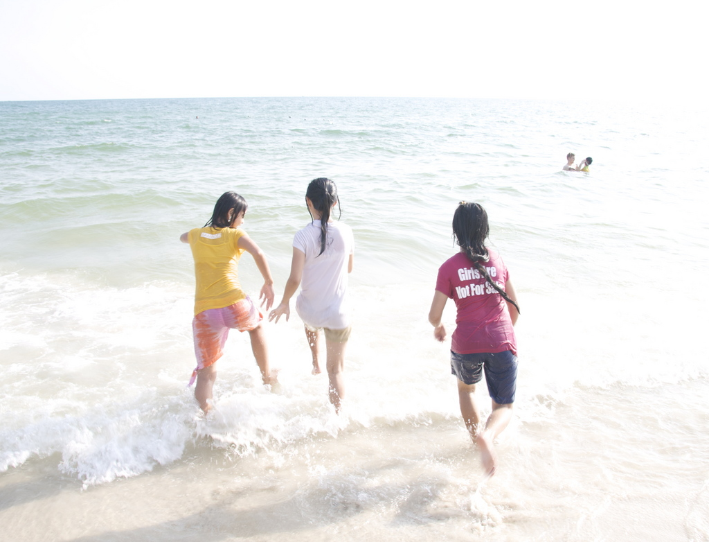 Transitions Global took a weekend at the beach with our girls, many of whom had never seen the ocean. These three girls survived the hell of being tortured, abused, and raped repeatedly. To see them running in the surf for the first time exemplifies the freedom and hope we want for all children.