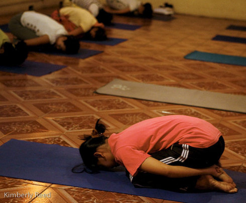 Yoga therapy helps healing