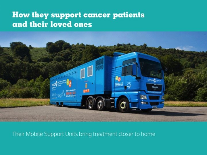 'Closer to Home'  Cancer Care Mobile Support Units