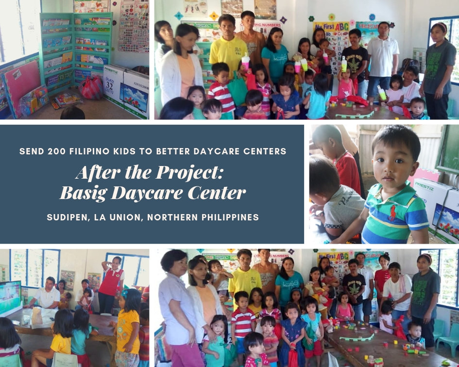 After the Project: The Basig Daycare Center