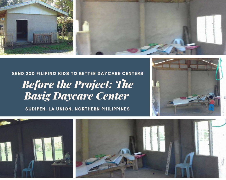 Before the Project: Basig Daycare Center