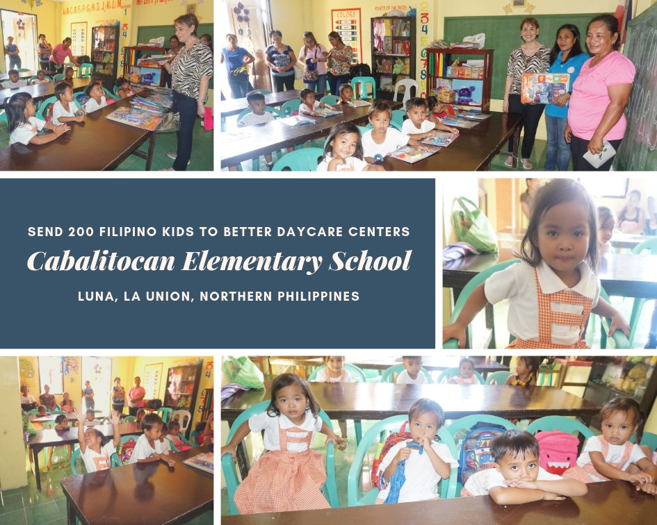 Extending Help to the Cabalitocan Daycare Center