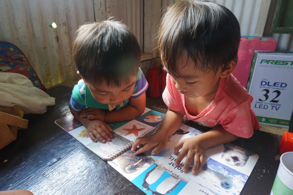 New books for the Bay-O Daycare Learners