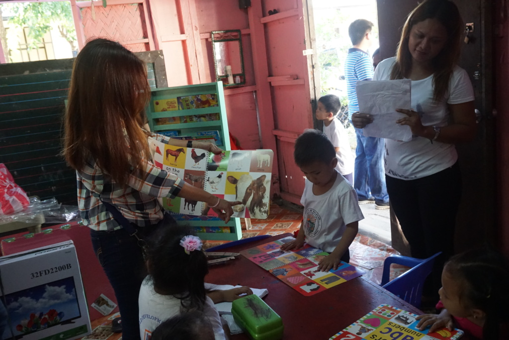 Picture books are also a big hit to daycare kids