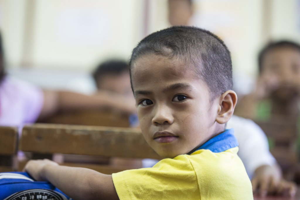 A daycare learner; photo by Exposure PH for HBI