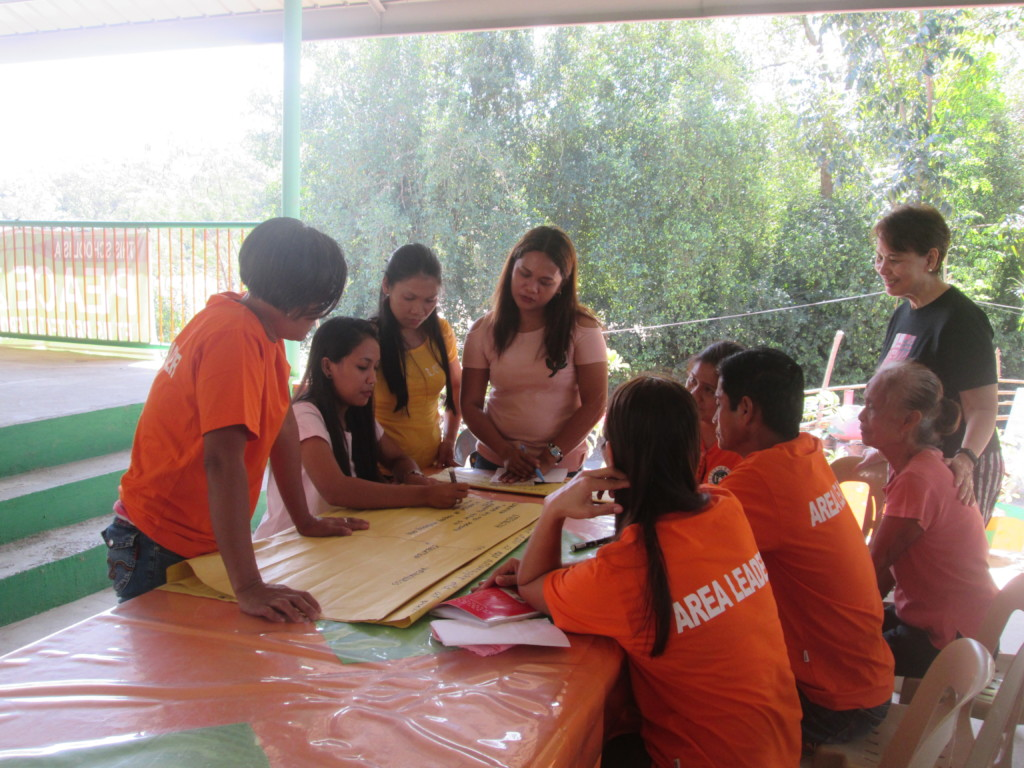 Meeting with some of the Basig, Sudipen Parents