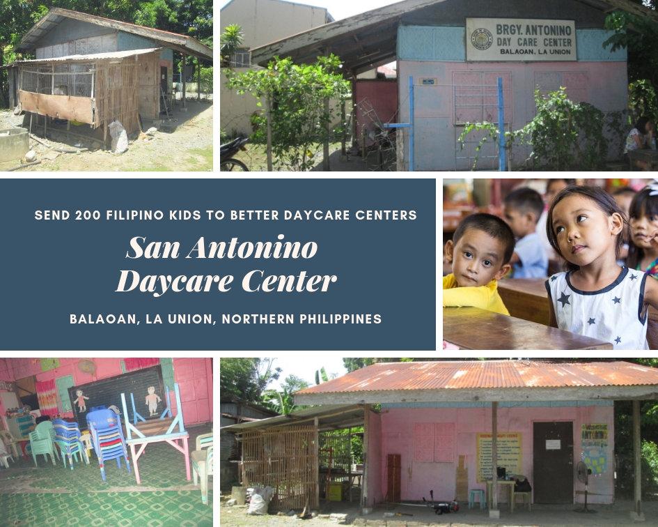 San Antonino Daycare Center in Balaoan, La  Union