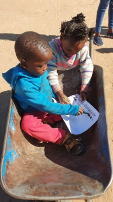 our ECD children keeping entertained