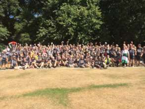 The Big Ride for Palestine sets off for 3-day ride