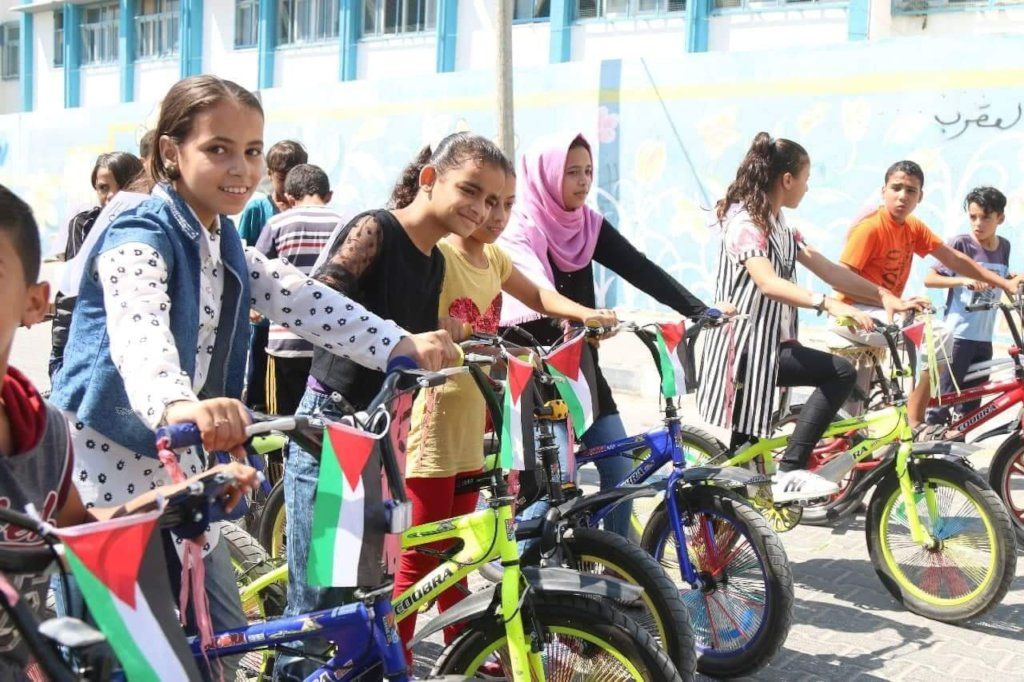 The Big Ride in Gaza