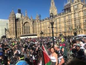 Closing rally in London!