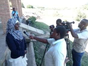 Chanco TV interviews Headteacher