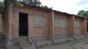 Chilimba School classroom outside view