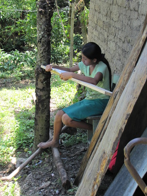 Reading in a rural community