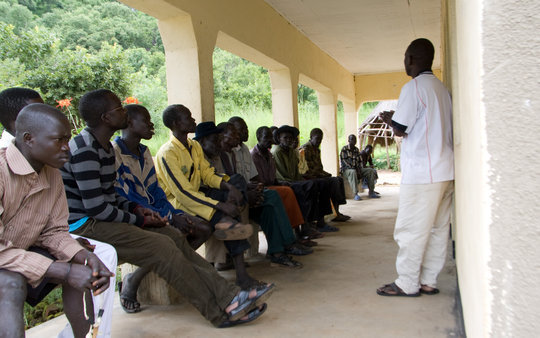 New Beekeeping Manager, Denis Ochanda