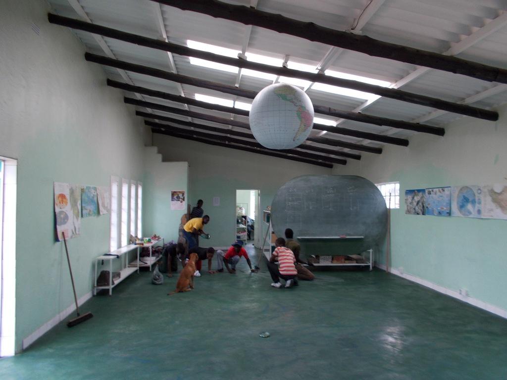 Maintaining the Center facilities