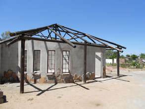 Tech Center built by our kids! pre-roofing