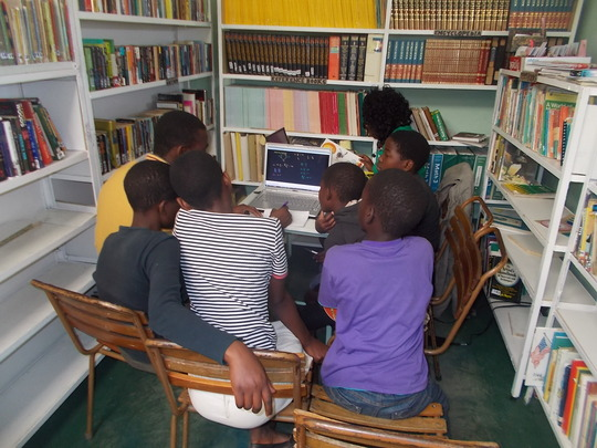 Tutoring in the library