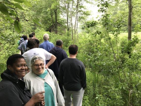 Sunshine Club of Shrub Oak enjoys a Nature Outing