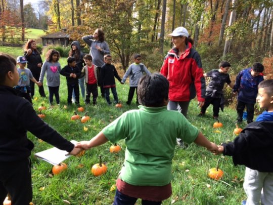 Boys and girls club delight in nature