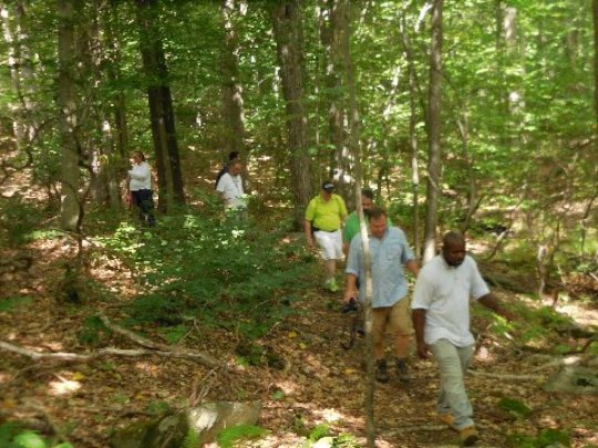 A walk in Nature for Laurel House uplifts