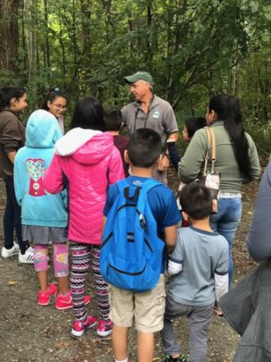 First generation families experience nature