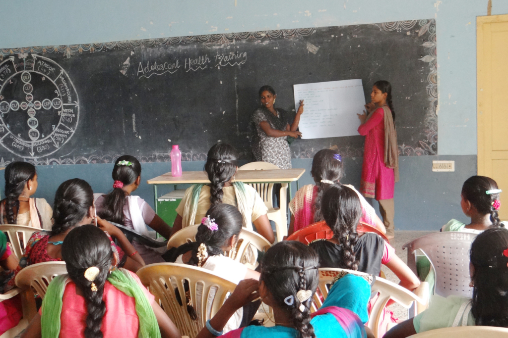 Adolescent health training