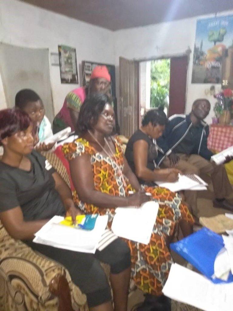 JulyHealth and Sanitation Training conducted at HQ