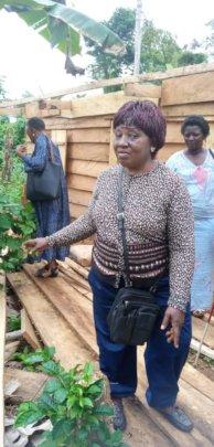 JRFIUSA Volunteer Visited Displaced families