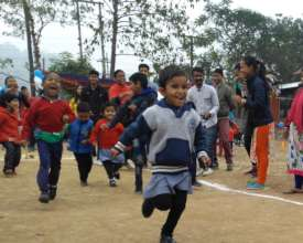 Children at our Annual Inclusive Sports Event