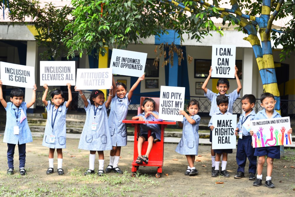 Help Educate 150 Disabled Children in India