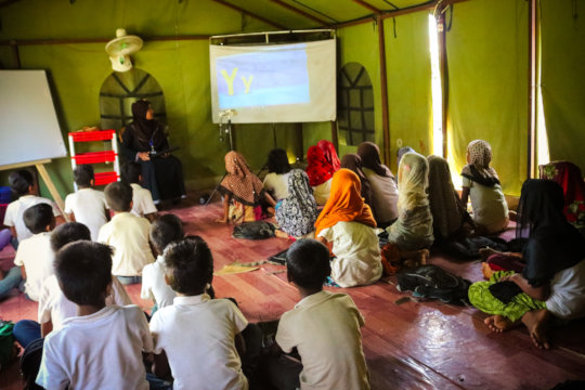 Education for the Refugee Rohingya Children