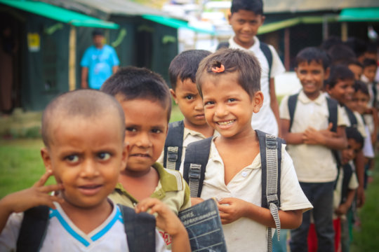 An Initiative to Make the Rohingya Children Smile