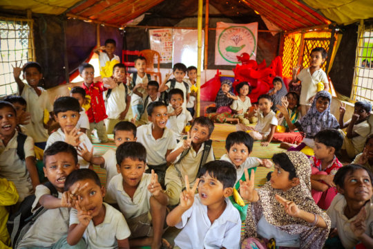 Children Hopes to Go back to School