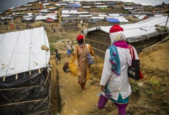 COVID-19 : The fate of the Rohingya Community
