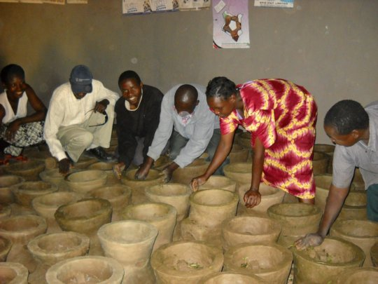 clay cook stove: is saving life in Africa