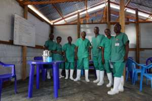 Team Members at the Ebola Treatment Center