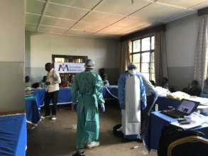 IPC training in Butembo Health Zone