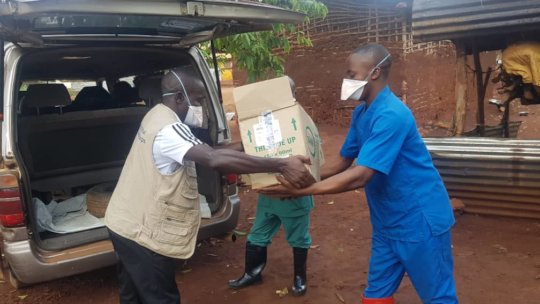 Our team delivers essential supplies in the DRC